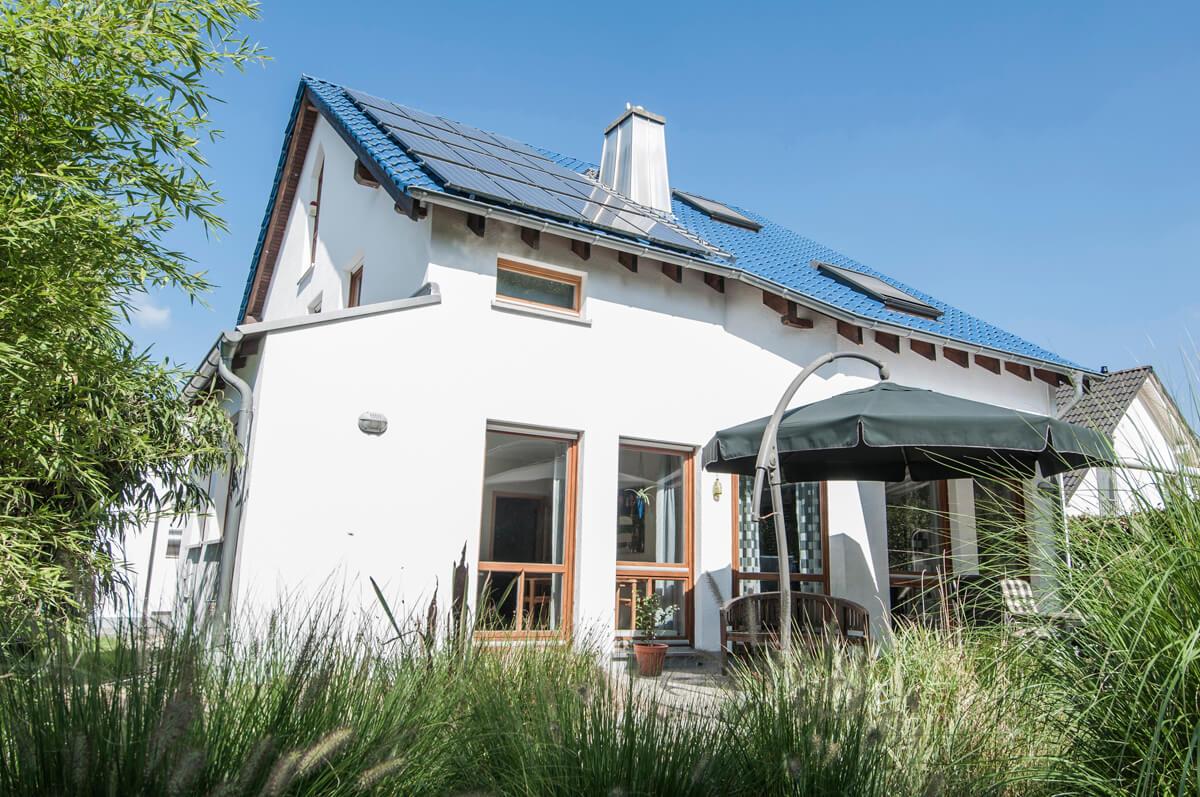 Satteldachhaus 01
